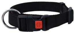 Ошейник - DogFantasy нейлон, 10mm, 20-35cm, черный