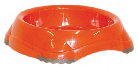 Миска для кошек - MAGIC CAT, пластик, нескользящий, оранжевый, 210ml