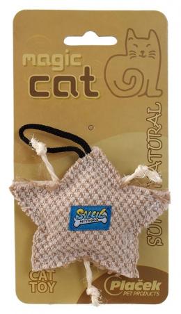 Rotaіlieta kaķiem Natural catnip star 9cm
