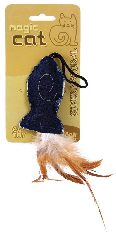 Игрушка для кошек Натуральная кошачья мята, рыбка 9.5cm
