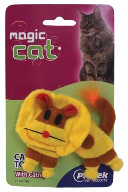 Игрушка для кошек Плюшевый лев с кошачьей мятой 14cm