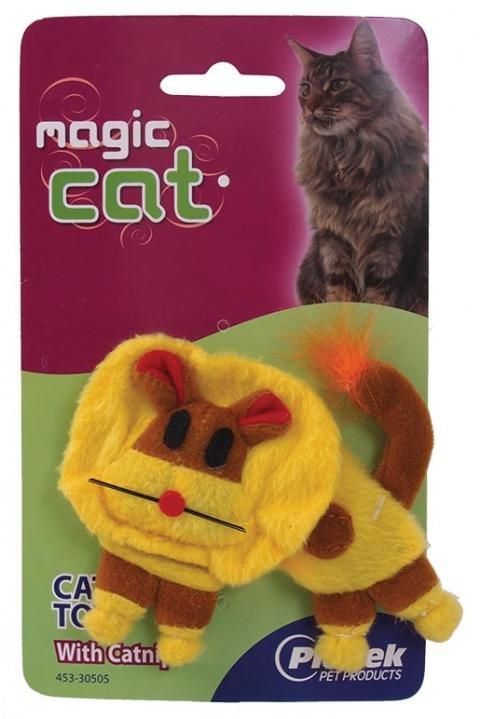 Rotaіlieta kaķiem plush Catnip Lion 14cm title=