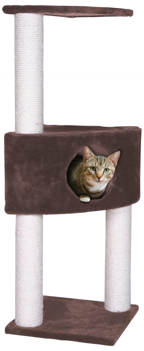 Домик для кошек - Irena 103 cm, коричневый title=
