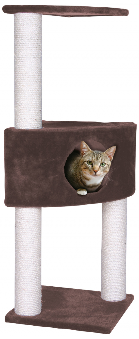 Mājiņa kaķiem – Magic Cat Irena 103 cm, Brown title=