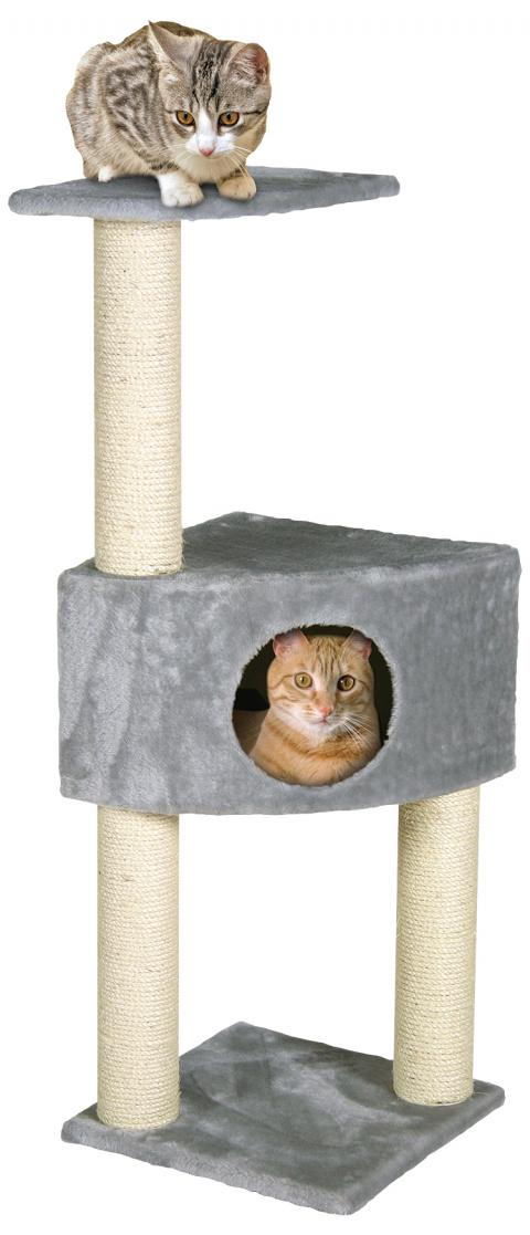 Mājiņa kaķiem - Irena 103 cm, pelēka title=