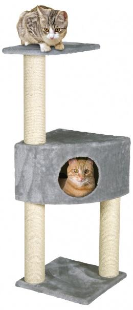 Mājiņa kaķiem - Irena 103 cm, pelēka