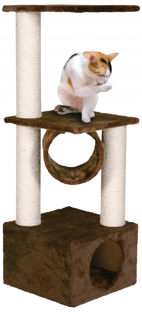 Mājiņa kaķiem - Magic Cat Tamara, 103cm, krāsa - brūna