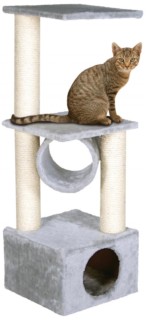Mājiņa kaķiem - Magic Cat Tamara, 103cm, krāsa - pelēka