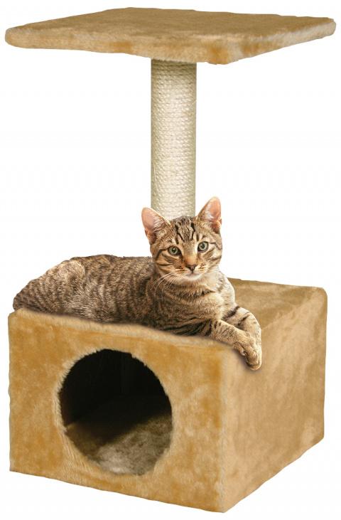 Mājiņa kaķiem - Hedvika, bēša, 56 cm