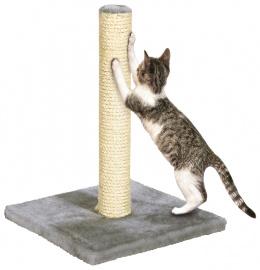 Когтеточка столбик - Nora 39 см, серый