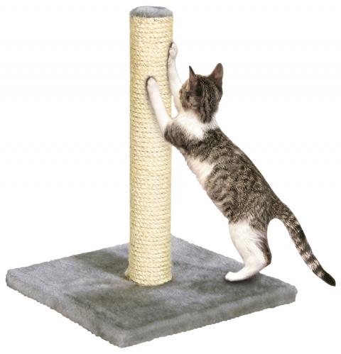 Когтеточка столбик - Nora 39cm (серый)