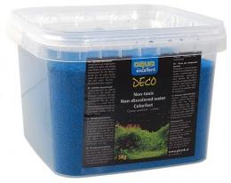 Grunts akvārijam - Aqua Excellent gaiši zila, 5 kg