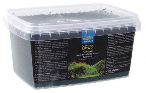 Грунт для аквариума - Aqua Excellent green/smaragd, 1 кг title=