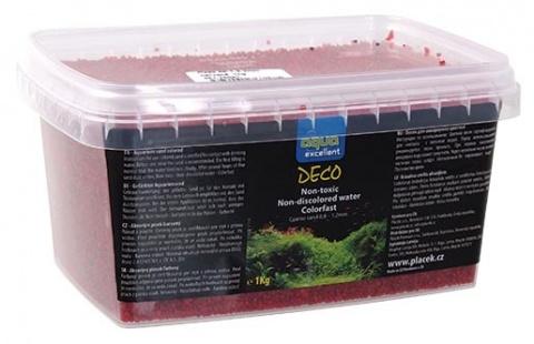 Грунт для аквариума - Aqua Excellent красный, 1 kg