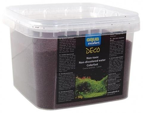 Grunts akvārijam - Aqua Excellent brūna/sarkana, 5 kg