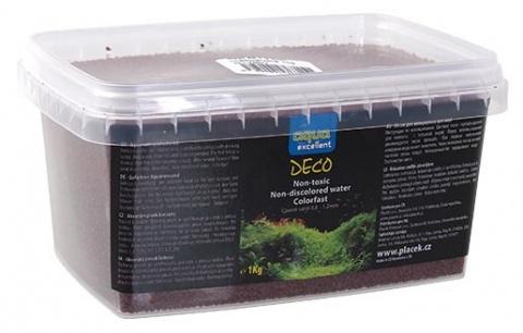 Грунт для аквариума - Aqua Excellent коричневый/красный, 1 kg title=