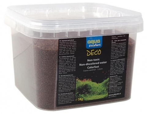 Грунт для аквариума - Aqua Excellent, brown/cappucino, 5 кг title=