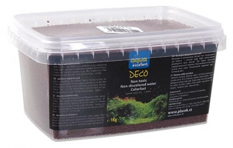Грунт для аквариума -  Aqua Excellent, brown/cappucino, 1 кг title=