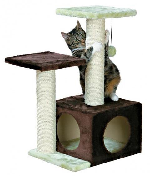 """Домик для кошек - """"Valencia"""", 71cm (коричневый/light зеленый) title="""