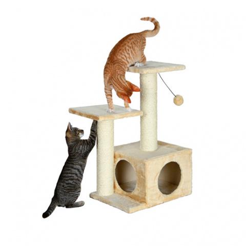 Mājiņa kaķiem - Valencia; 71 cm (bēša krāsa) title=