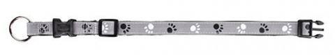 Отражающий ошейник для собак - 'Safety Light' High Reflective Collors, M-L title=