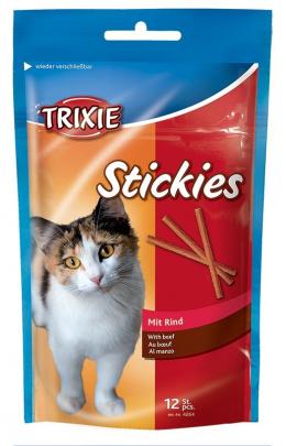Gardums kaķiem - Kitty sticks ar gaļu 12gab 25g  Tr.4264