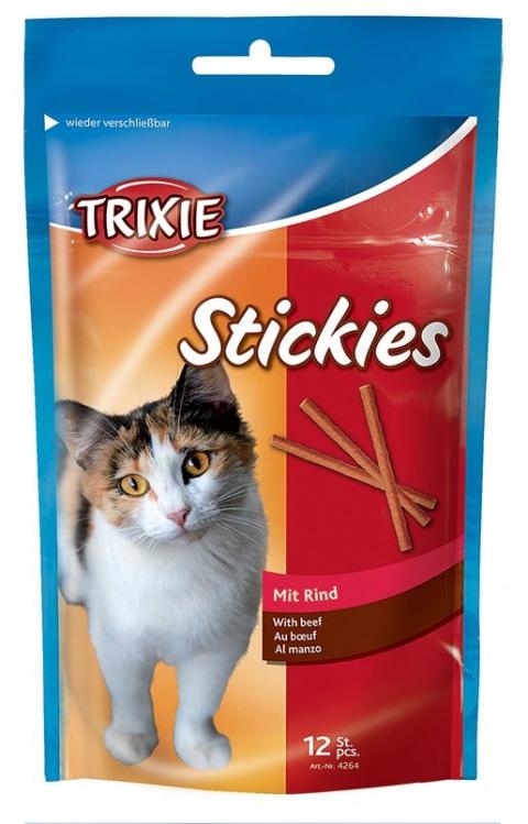 Лакомство для кошек - Kitty sticks ar gaіu 12шт 25g  Tr.4264