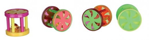 Rotaļlieta kaķiem - TRIXIE Balls and rollers, plastmasa, o 4.5 cm / 4 cm