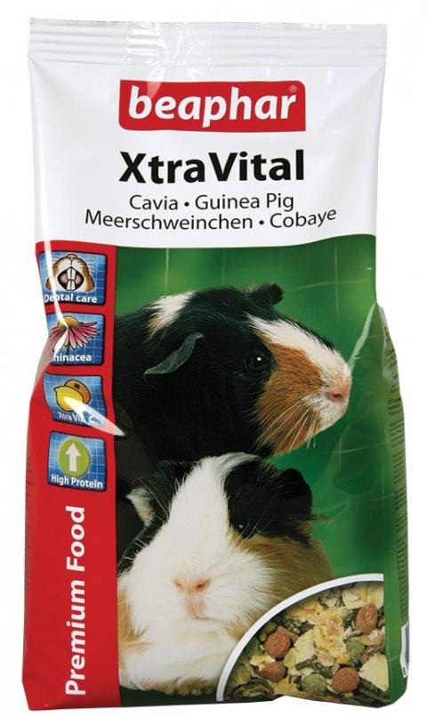 Barība jūrascūciņām - XtraVital Cavia, 1 kg