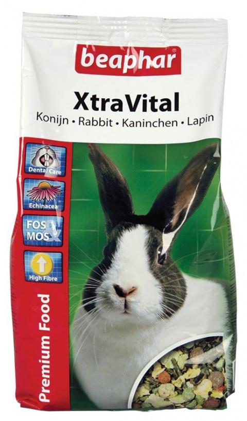 Barība trušiem - XtraVital Rabbit, 1 kg