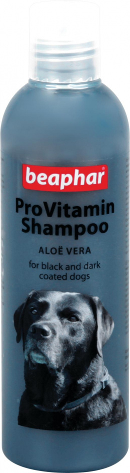 Šampūns suņiem - Beaphar ProVitamin Shampoo black, 250 ml