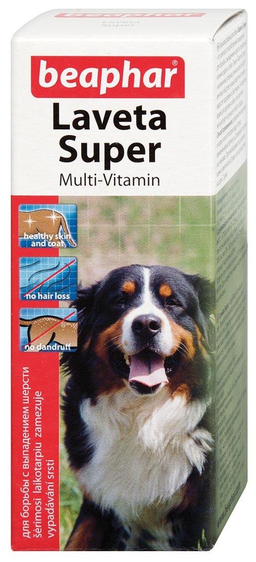 Пищевая добавка для собак - Beaphar Laveta Super Hund, 50 мл