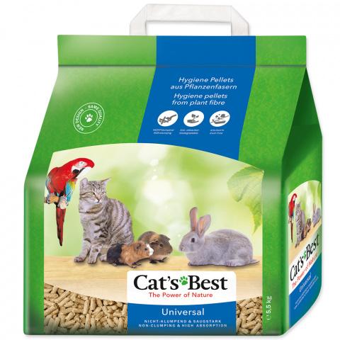 Древесный наполнитель - Cats Best Universal, 10 л (5,5 кг) title=