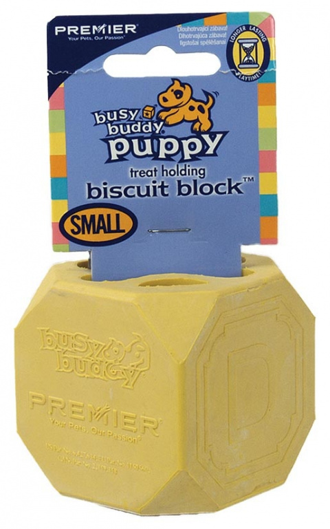 Rotaļlieta suņiem - BusyBuddy Puppy Biscuit Block S, 5.5cm