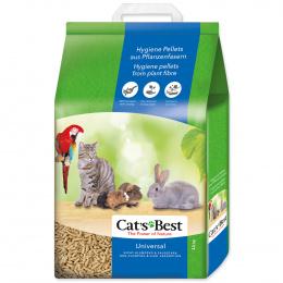 Наполнитель для туалетов, клеток, вольеров - Cats Best Universal, 20 л