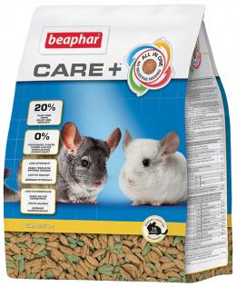 Barība šinšillām - Care+ Chinchilla, 1,5 kg