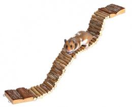 Aksesuārs grauzēju būrim - Natural Living ladder, 7*55 cm