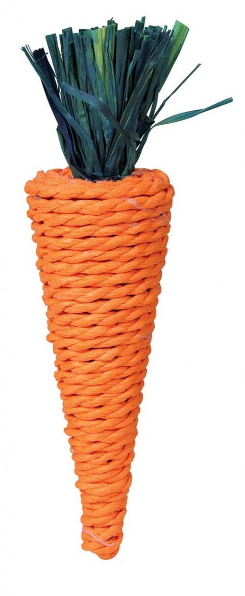 Игрушка для грызунов -Морковка 20 cm title=