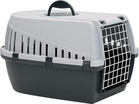 Transportēšanas bokss dzīvniekiem – Savic, Trotter 1, antracite - grey, 49 x 33 x 30 cm title=