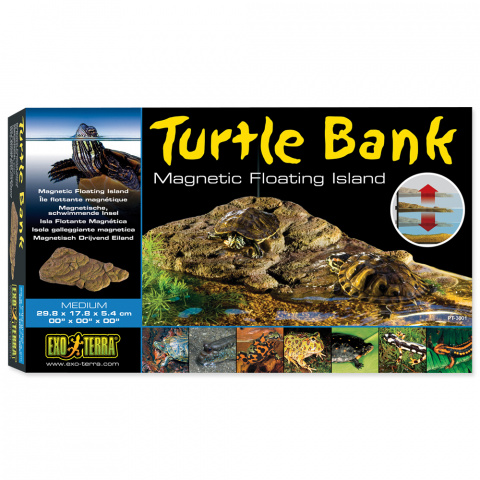 Декор для террариума - ExoTerra Turtle Island medium title=
