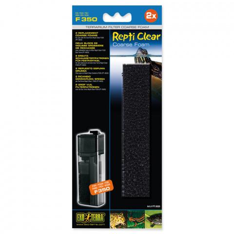 Наполнитель для террариумных фильтров  - Exo Terra Rough Foam for ExoTerra Repti Clear F350