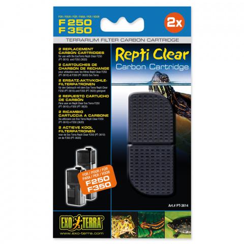 Наполнитель террариумных фильтров - Carbon filter Refill for ExoTerra Repti Clear F250 title=