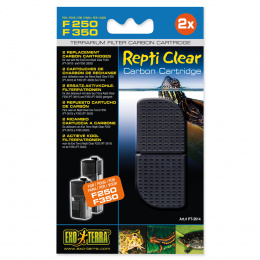 Terārija filtru pildījums - Carbon filter Refill for ExoTerra Repti Clear F250