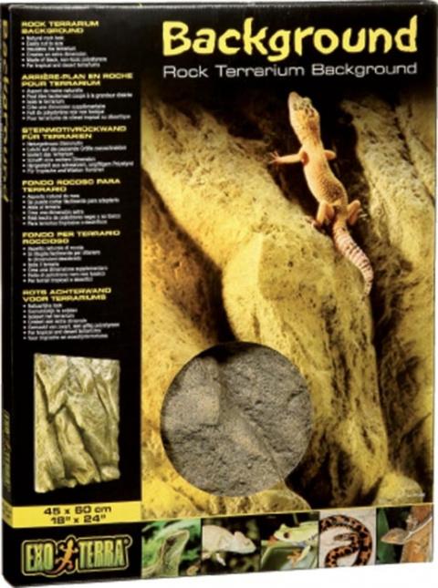 Dekors terārijam - ExoTerra Rock Fons 45*60cm title=