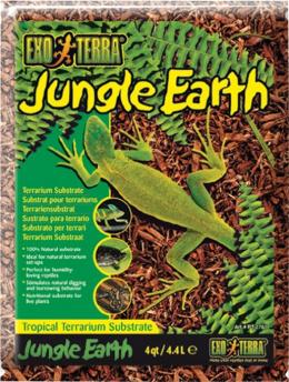 Pakaiši terārijam - ExoTerra Jungle Earth 4,4 L