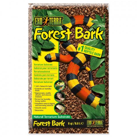 Pakaiši terārijam - ExoTerra Forest Bark 8.8 L title=
