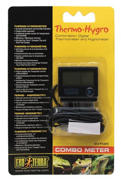 Termometrs un hidrometrs terarijam - ExoTerra Combo Meter