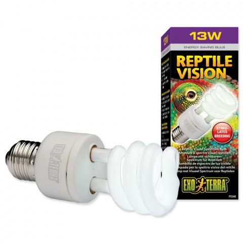Лампа для террариума - EXO TERRA Reptile Vision (13W) title=