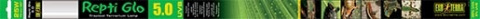 Lampa terārijam - ExoTerra Reptil Glo 5.0, 25 W, 76 cm title=