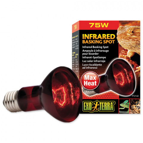 Лампа для террариума - Infrared Heat Glo 75W